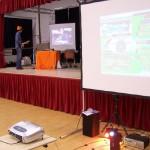DDR avec vue sur Guitar Hero - Indre Arena - 2009